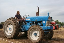 Roadless Ploughmaster 65 tractor