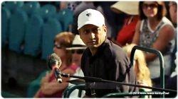 Chair Umpire Abhishek Mukherjee