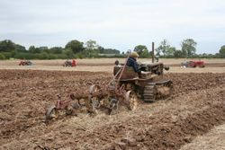 Cat D2 Ploughing