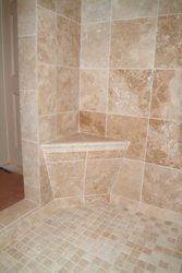 Shower Full Corner Seat