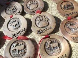 Montana Wildlife Christmas Ornaments