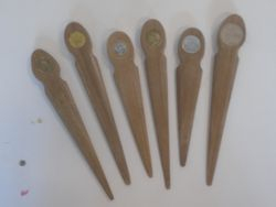 """Letter openers:  up to 9""""long   $2.00"""