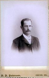 S. A. Johnson, photographer of Prentice, WI