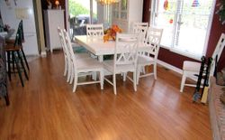 Installation of SwiftLock wood floor
