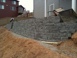 retaining wall in Sherwood   Sherwood OR retaining walls