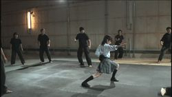 Kurenai Karate action