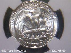 1956 Type-B Reverse NGC MS-66