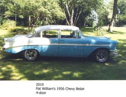 Pat Williams' 1956 Chevy Belair 4 dr