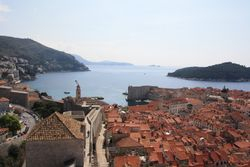 View from Walls in Dubrovnik