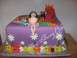 CAKE 28A2- In The Garden