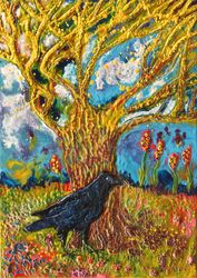 The Fable of Raven and the Magic Tree