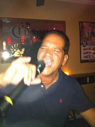 """Jose was """"Upon The Roof"""" at Legendary Friday Night Karaoke!"""