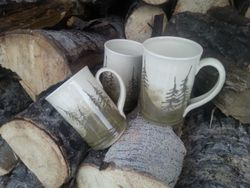 Pine Forest Mugs