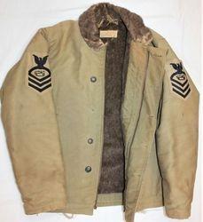 Seabee CPO, Deck Jacket WWII: