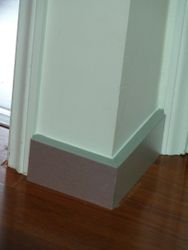 10. Stainless Laminate Skirting Boards.