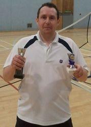Handicap Tournament Mens Singles Winner
