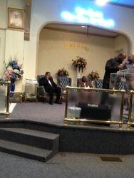 Pastor Davis and Pastor Rountree