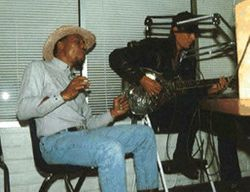 Interview at KKUP Radio California - 1997