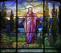 Tiffany, Christ the Redeemer, 1924