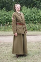 WW1 FANY  Cullotts worn by Molly Housego