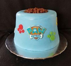 Paw Patrol Bowl Cake