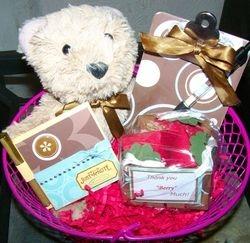 Bear Gift Basket