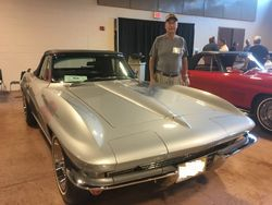 Joe Simon,67, L79 Convertible, Silver Pearl Black Vinyl interior and Top, Power Steering, Power Brakes and Power Windows. 3 Top Flights .PV, Duntov Award.