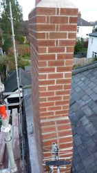 chimney completed