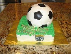 Columbus Crew Soccer cake