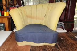 Stripped Tub chair