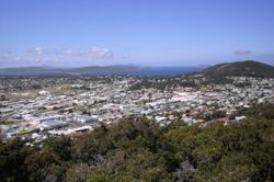 Overlooking Albany AGM Site  from Mt Melville Lookout