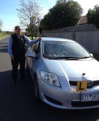 Driving School Caulfield VIC 3162 - Toyota Corolla Hatch - Automatic