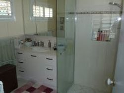 19. Vanity & Mirrored Shave Cabinet.
