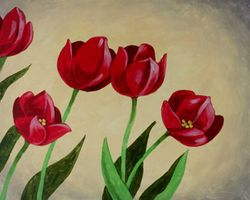 """Tulips are Red"""