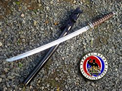 Spring Steel Custom Made Wakizashi