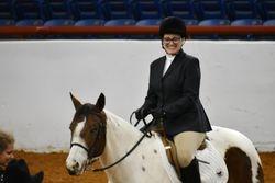 Great smile, great ride. Jennifer on Gypsy.