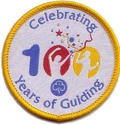 2010 Anniversary Cloth Badge