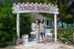 Bill and Linda at Da Conch Shack