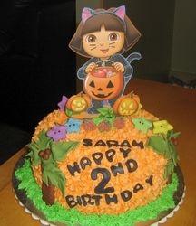 Dora at Halloween