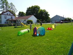 Setting up summer fun