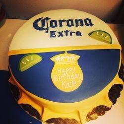 Corona Cap Cake