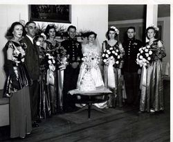 Margaret Gurganus wedding to Leon Fabian DeVillier