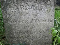 Margaret (Harker) Fisher (1819-1882)