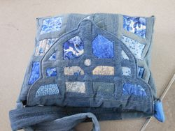 Marion's wonderful Delft Bag