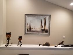 Picture hanging installation in takoma park MD