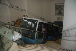 The funicular train from Nazare to Sitio