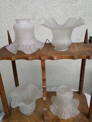 Senoviniai stikliniai gaubteliai. 6 vnt. Kaina po 17