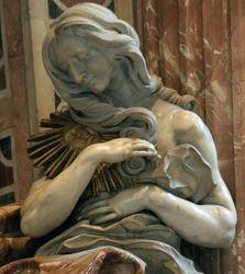 "Bernini, Tomb of Alexander VII, ""Truth"", St. Peters"