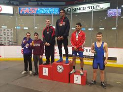 Moiz Lakhani - 3rd place at Cadet Provincials 2017