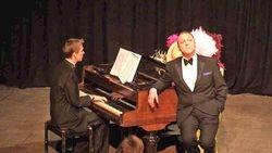 At the piano (2)
